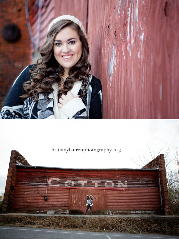 Creative Charlotte Senior pictures