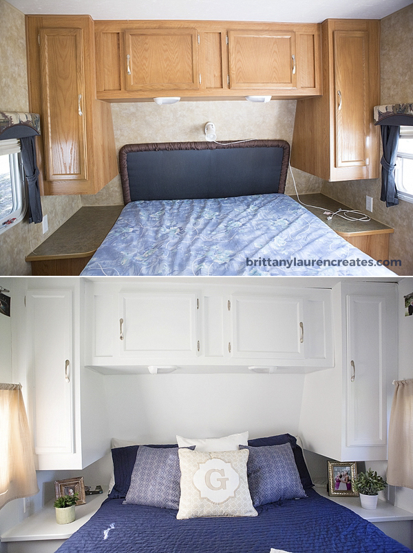 before  u0026 after gorgeous diy camper renovation