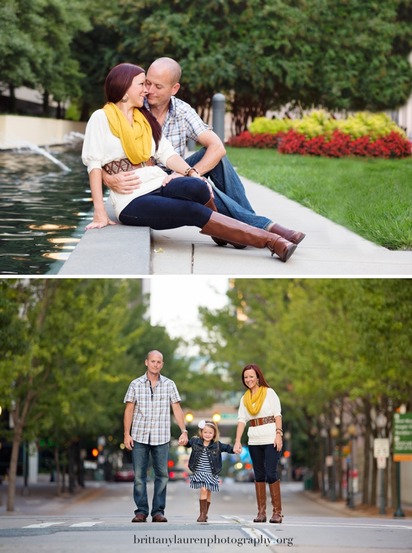 Charlotte Uptown Family pictures