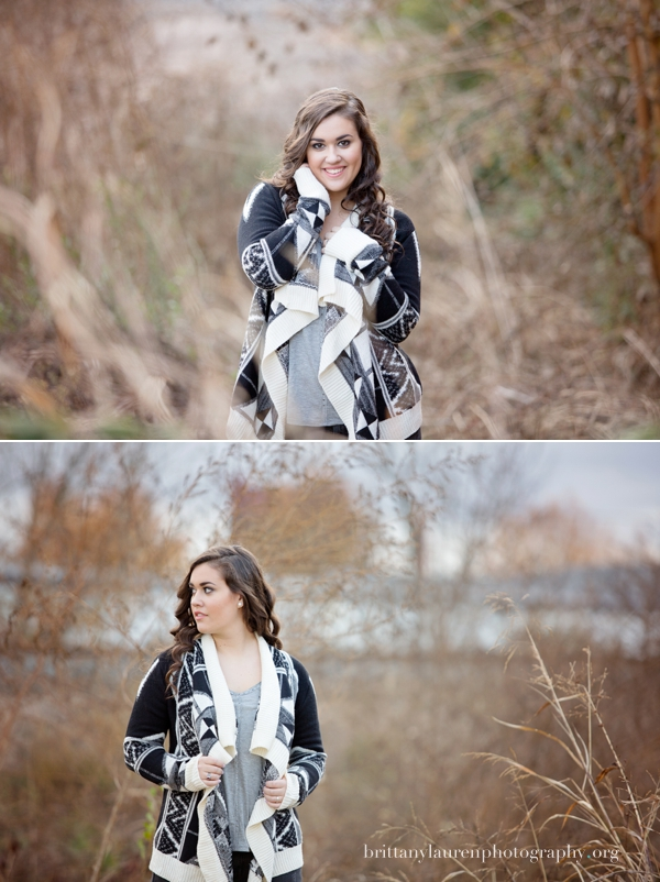 Charlotte natural senior pictures