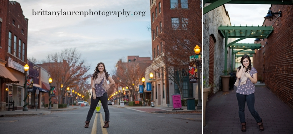 Personalized Charlotte Senior pictures