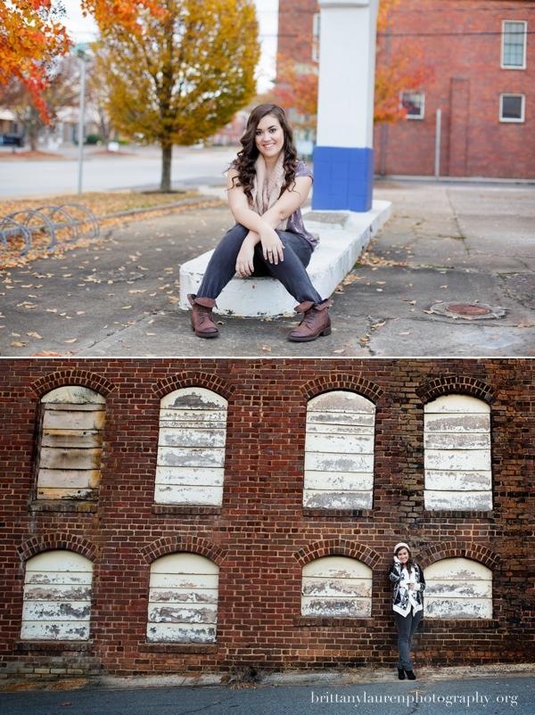 Charlotte High School photo shoot